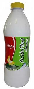 CBA Acidofilné mlieko so zníženým množstvom tuku 950 g
