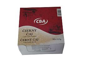 CBA čierny čaj v nálevových vreckách 90 x 1,5 g