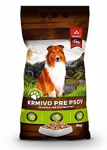 CBA krmivo pre psov 5 kg (granule)