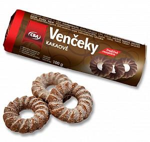 CBA venčeky kakaové 100 g