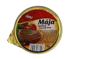 CBA Mája lahôdkový bravčový krém 75 g
