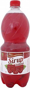 CBA Sirup s príchuťou malina 1 l