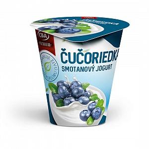 CBA Premium Smotanový jogurt čučoriedkový 145 g