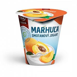 CBA Premium Smotanový jogurt marhuľový 145 g