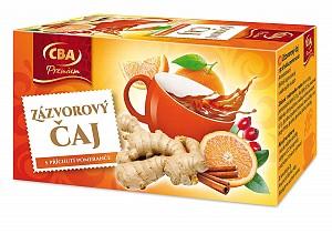 CBA Premium Zázvorový čaj s príchuťou pomaranča 40 g