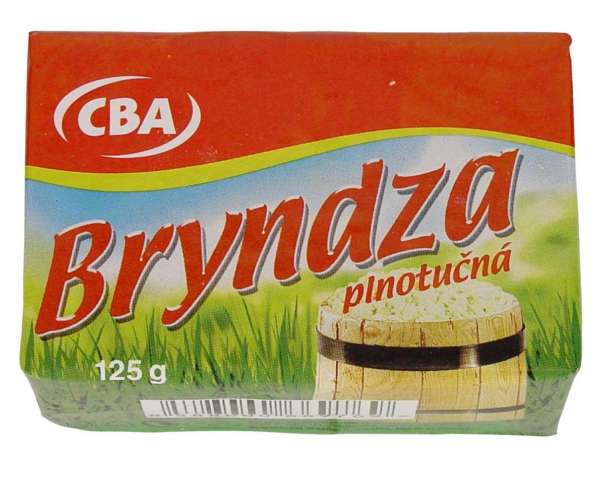 CBA Bryndza plnotučná 125 g