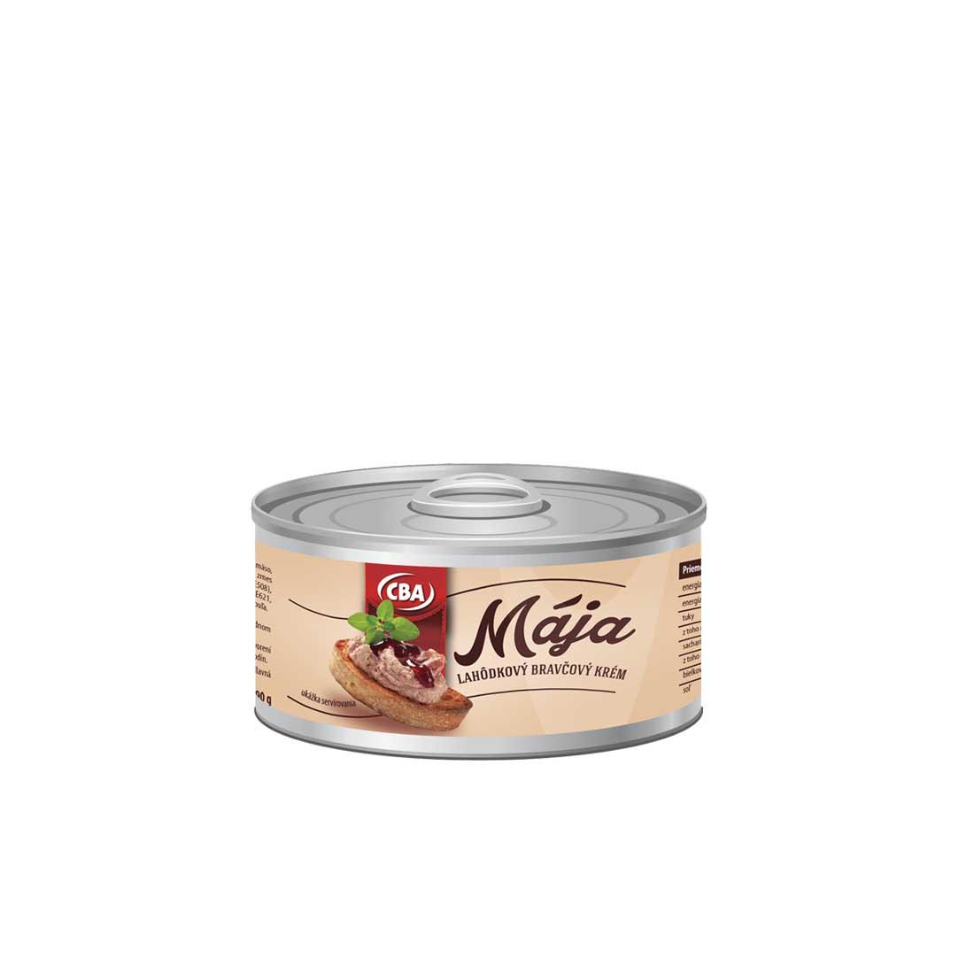 CBA Mája lahôdkový bravčový krém 190 g