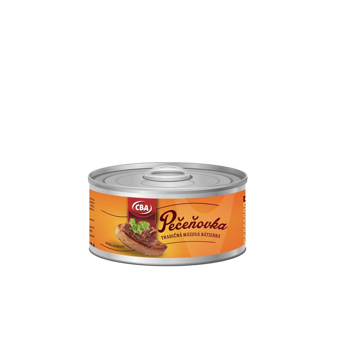 CBA Pečeňovka tradičná mäsová nátierka 190 g