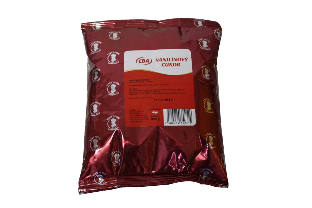 CBA Vanilínový cukor 1 kg